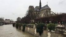 De la BNF à la Tour Eiffel, les images de la crue de la Seine à Paris