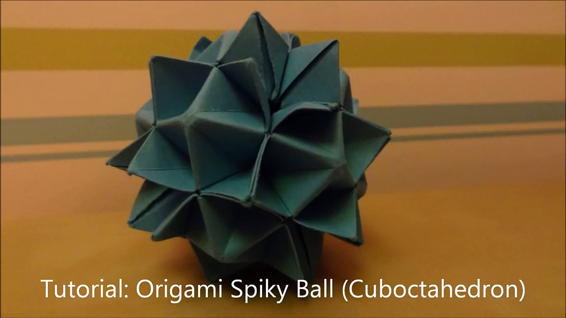 Modular Origami - spiky balls and stellated polyhedra models ... | 1080x1920