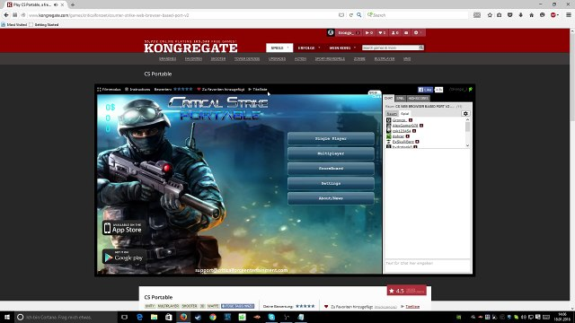 How to play / Download CS portable [2017]