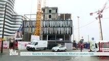 Quartier Euronantes : l'immeuble Kibori en ossature bois
