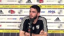 Thomas MoConférence de Presse d' Avant - match J13  - Amiens SC - AS Monaco