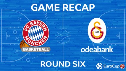 7Days EuroCup Highlights Regular Season, Round 6: Bayern 86-78 Galatasaray