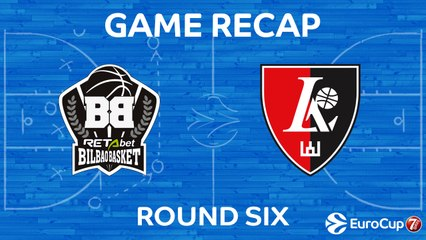 7Days EuroCup Highlights Regular Season, Round 6: Bilbao 79-96 Rytas