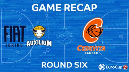 7Days EuroCup Highlights Regular Season, Round 6: Fiat Turin 65-87 Cedevita