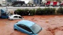 Grèce : des inondations font au moins 14 morts dans la grande banlieue d'Athènes