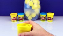 Minions new Giant Surprise Play Doh Egg How To Make Tutorial PlayDoh Gigante Sorpresa Del Huevo