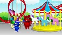 Mega Gummy Bear Driving Through Red Light Police Funny Cartoon Finger Family Nursery Rhyme