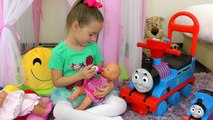 Bad Baby playing Doctor Family Fun Pretend Play toys _ Twinkle Star Song Nursery Rhymes for Children-w6JCpFrXNzA