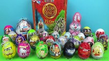 35 Surprise Eggs!!! Disney Frozen Pokemon Mickey Mouse Kinder Eggs Kinder Surprise Egg