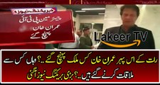 Imran Khan Went Outside Country for Political Meetings