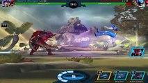 Power Rangers Legacy Wars - Trakeena Gameplay Battles | Power Rangers Lost Galaxy