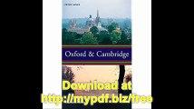 Oxford & Cambridge  an uncommon history