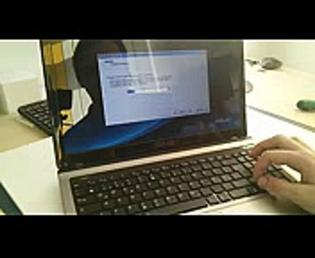 Asus Notebook Recovery  Wiederherstellung  Neuinstallation Auslieferzustand F9 (z.B.A53S K53S x53S