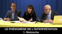 II. Le phénomène de l'interprétation, 2.1. Nietzsche, Hélène DEVISSAGUET