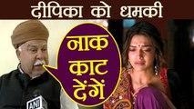 Deepika Padukone THREATENED by Rajput Karni Sena | FilmiBeat