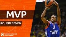 Turkish Airlines EuroLeague Regular Season Round 7 MVP: Errick McCollum, Anadolu Efes Istanbul