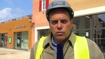 Renaud Tarrazi, architecte du village de marques à Miramas