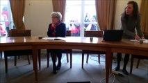 Bourgogne-Franche-Comté : les syndicats interrompent une conférence de presse de Marie-Guite Dufay