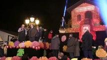 Sortie du beaujolais nouveau aux Sarmentelles à Beaujeu mercredi soir