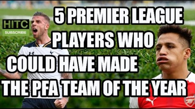 5 Premier League Players Who Could Have Made The PFA Team Of The Year