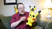 Pikachu Balloon Animal Tutorial (Balloon Twisting and Modeling #34 )
