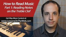 How to Read Music Notes for Piano - Easy Piano Lessons for Beginners - Lesson 1