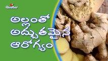 Best Health Benefits of Ginger and Ginger Tea in telugu    Viral Rocket