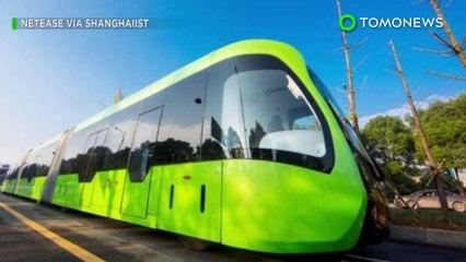 Tren inteligente: China lanza el primer 'tren inteligente' que funciona sin conductor - TomoNews