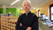 Le Norviégien Egil Haaseth, ancien patron du restaurant Up North près de la Grand-Place de Bruxelles, travaille au CHRH