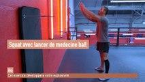 Ilosport - Musculation : Trois exercices de musculation avec un medecine ball