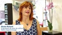 Apprentissage : le témoignage de Nicole Richard qui dirige un salon de coiffure