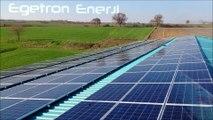 80Kwp Güneş Enerjisi Santrali Kurulumu Edirne - Egetron Enerji