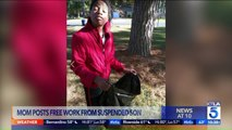 Mom Makes Son Do Free Yard Work as Punishment for School Suspension