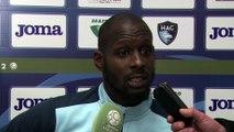 Avant GFC Ajaccio - HAC, interview de Yohann Thuram