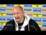 Blackpool v Wigan: Ian Holloway On Relegation