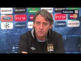 Villarreal v Man City | Roberto Mancini says he wants to be City manager for many years