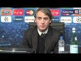 Man City 2-1 Villarreal: Mancini admits City lucky after late Aguero goal