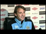 Roberto Mancini on the title race, Mario Balotelli and Carlos Tevez refusing to play