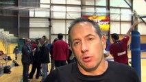 Réaction de Christophe Charroux: entraîneur du Martigues Volley-Ball Club