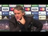 Mancini: Champions League campaign 'finished'