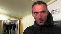 L'entraîneur Martégal Jérôme Erceau aprés le nouveau revers du FC Martigues