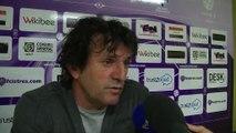 La réaction de l'entraîneur du FC Istres aprés la victoire cet après-midi