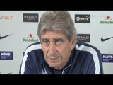 Pellegrini: 'Liverpool will always miss Suarez' | Manchester City v Liverpool