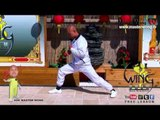 wing chun basic - How to do basic stretches for warm up lesson 1