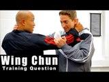Wing Chun training - wing chun chi Sao for grabbling Q43