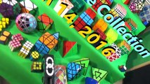 [NEW] Rubiks Cube Collection 2016 | 80+ Cubes
