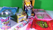 NEW CANDY! Bag of UNICORN FARTS! Zombie Zits! GRAVY CANDY! Trolls Projector POP! Snow Cones! FUN