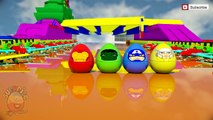 Marvel Superheroes Surprise Eggs Opening with Pokemon, Ninja Turtles Surprise Eggs Toys Kids Video