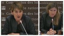 Lieux de privation de liberté : audition d'Adeline Hazan