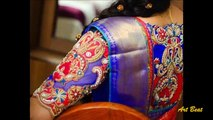 Top Stylish & Beautiful Designer Blouse Sleeves Designs - Latest Fashion Trends Blouses